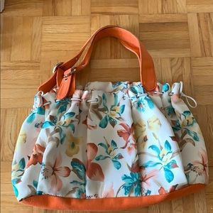 Cute floral tote